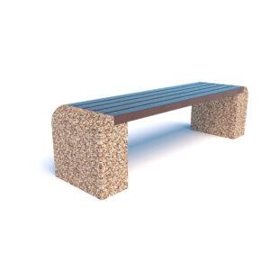 Купить скамейки бетонные Евро 1