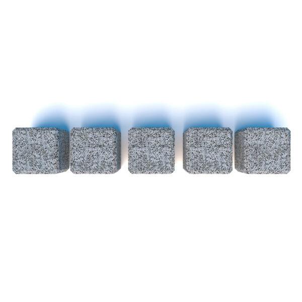 Купить ограждения бетонные Куб