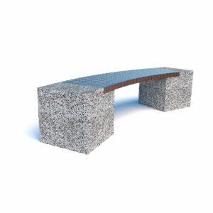 Купить скамейки бетонные Евро 2 арка