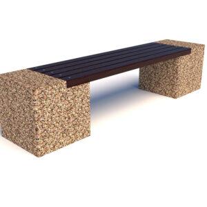 Купить скамейки бетонные Евро 2