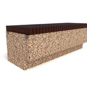Купить скамейки бетонные Темп