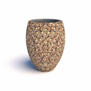 Купить вазоны бетонные Призма
