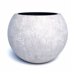 Бюджетные вазоны бетонные Глобус