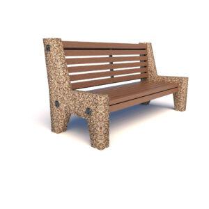Купить скамейки бетонные Евро 7