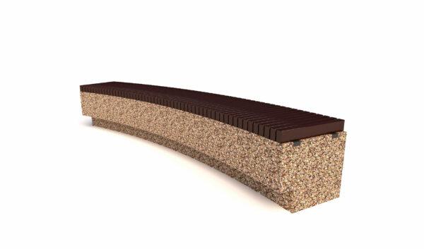 Купить скамейки бетонные Темпо R