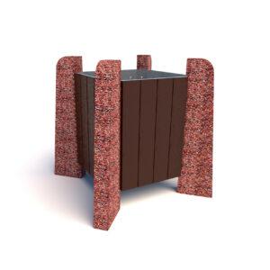 Купить вазоны бетонные Нест