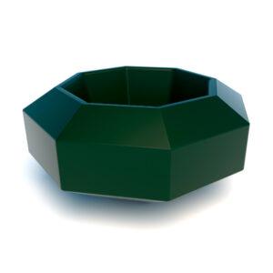 Купить пластиковую форму вазона Бриллиант