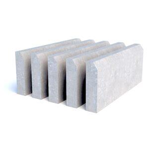 Бюджетные бетонные бордюры