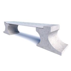 Бюджетные бетонные скамейки Анвиль