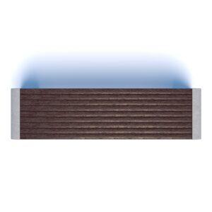 Бюджетные скамейки бетонные Евро 1