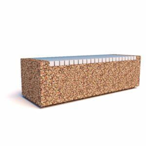 Купить скамейки бетонные Темп 1500