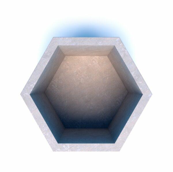 Бюджетные вазоны бетонные Доминик