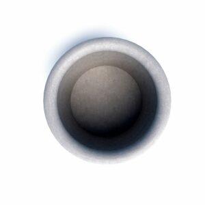 Бюджетные бетонные вазоны Гарден