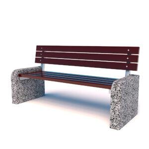 Купить диваны бетонные парковые
