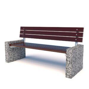 Купить диваны бетонные парковые 2