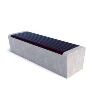 Скамейка Арбат бетон 00005