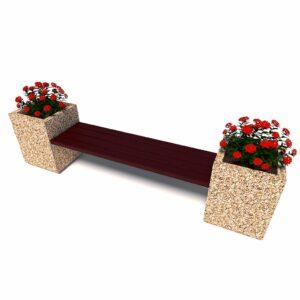 Купить уличный диван «Киль», 1 секция, без спинок