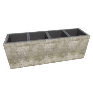 Бюджетные бетонные урны для раздельного сбора мусора Киль