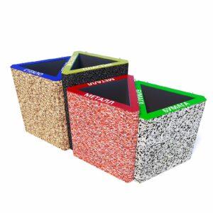 Урны для раздельного сбора мусора «Тандем»