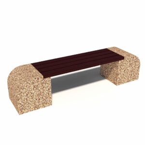 Купить скамейки бетонные Стелла