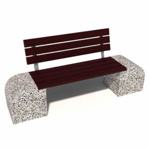 Купить уличные диваны из бетона Стелла