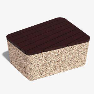Скамейка бетонная Инит
