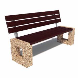 Купить уличные диваны из бетона Арена