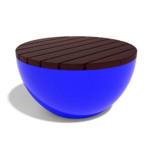 Купить стеклопластиковую скамью на полусферическом основании
