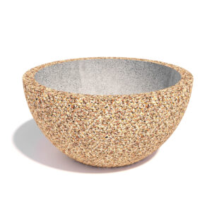 Вазон Чаша из бетона