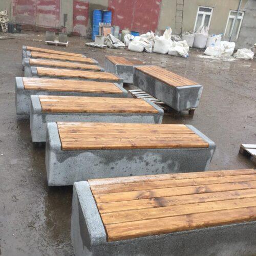 Производство уличных скамеек