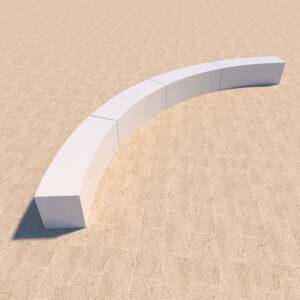 Стеклопластиковая скамейка СВ-07