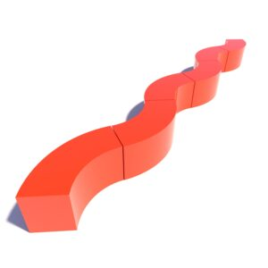 Стеклопластиковая скамейка СВ-10